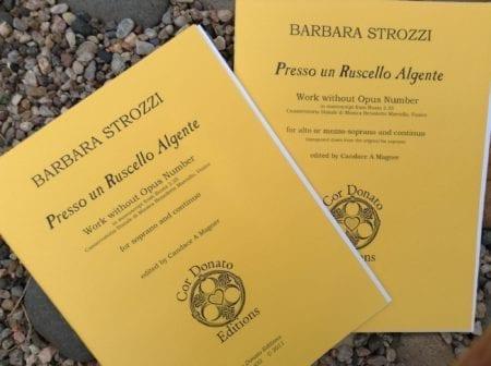 Barbara Strozzi: Presso un Ruscello Algente, Soprano or Mezzo-Soprano/Alto