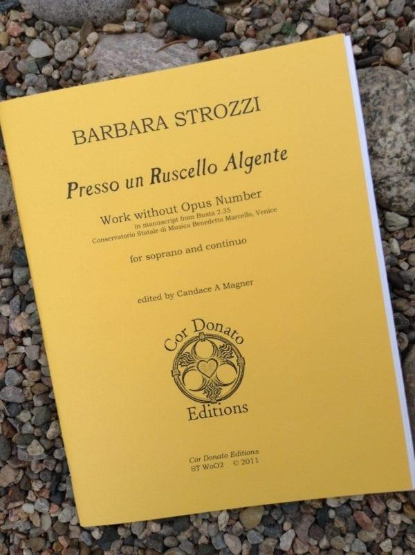 Barbara Strozzi: Presso un Ruscello Algente, Soprano